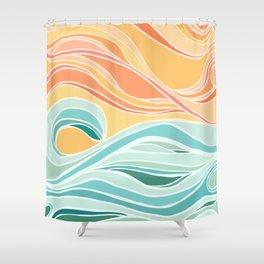 Sea and Sky II Shower Curtain