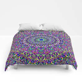 Happy Bohemian Jungle Mandala Comforters