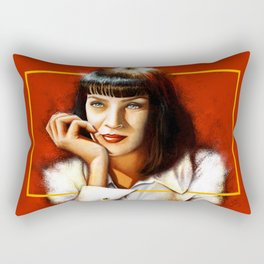Mia Thurman Rectangular Pillow