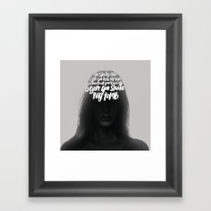 Songs XV.  Framed Art Print