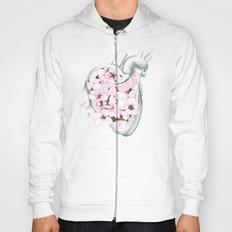 Blossom Burst Heart Hoody