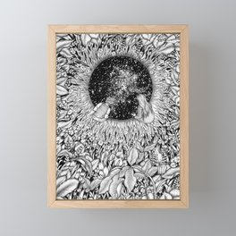 The Hole We Found In the Garden Framed Mini Art Print