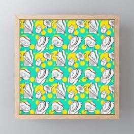 A bunch of Bunnies Framed Mini Art Print