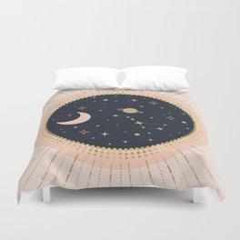 Love in Space Duvet Cover