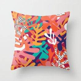 Matisse Pattern 006 Throw Pillow