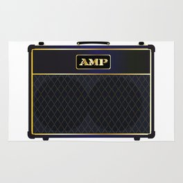 Electric Guitar Amplifier Rug