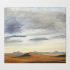 Desert Clouds Canvas Print