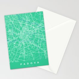 PADOVA Map - Italia | Green | More Colors, Review My Collections Stationery Cards