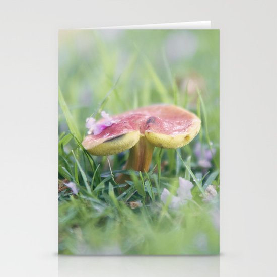Dance of the Shroom Stationery Cards