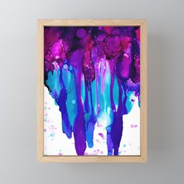 Umbrella Framed Mini Art Print