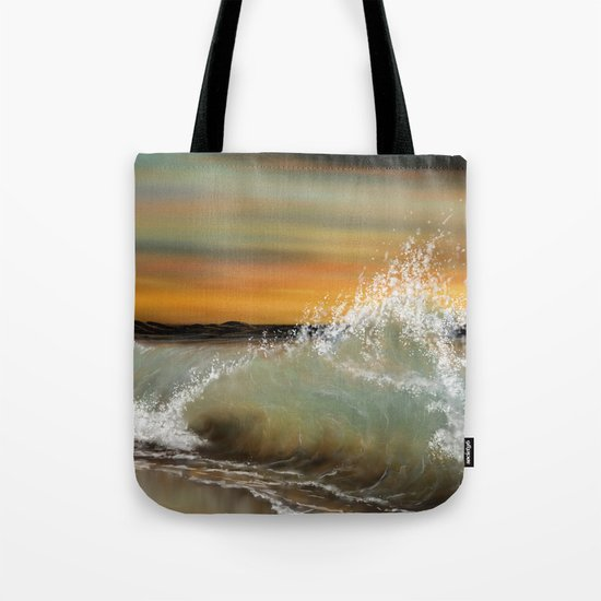 Sea Waves 2 Tote Bag