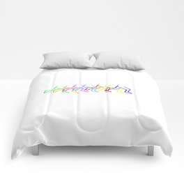 Colorful runners Comforters