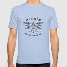 Hyrule Royal Brewery Tri-Blue Mens Fitted Tee MEDIUM