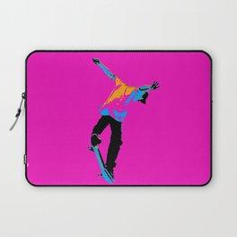 """Flipping the Deck"" Skateboarding Stunt Laptop Sleeve"