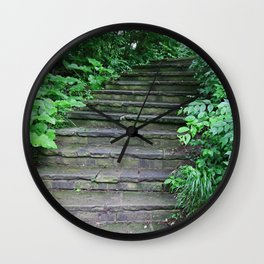 The Forgotten Journey Wall Clock