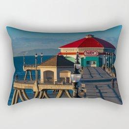 Ruby's on the Pier Rectangular Pillow