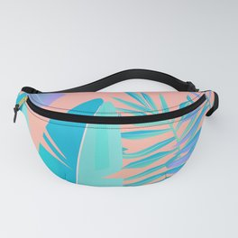 Tropics ( monstera and banana leaf pattern ) Fanny Pack