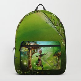 Sweet fairy and fantasy mushrooms Backpack