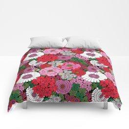 Vintage Florals Geranium Comforters