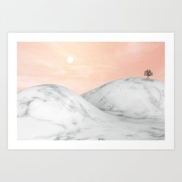 Marble Mountain IV Art Print