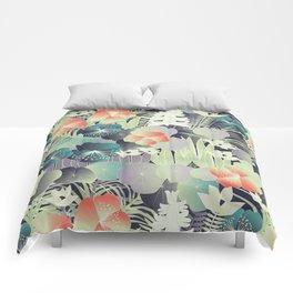 tropical mix Comforters