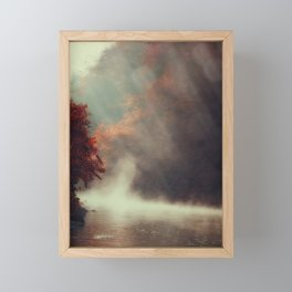 Breathing River Framed Mini Art Print