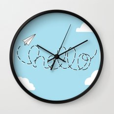 Passing Notes Wall Clock