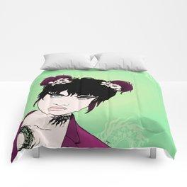 Badass Dragon Lady Comforters