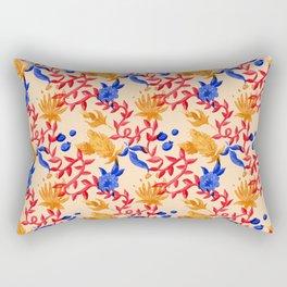 Berries n Thistles Rectangular Pillow