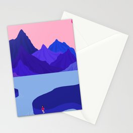 Mountain Hike//Missing Bike Stationery Cards