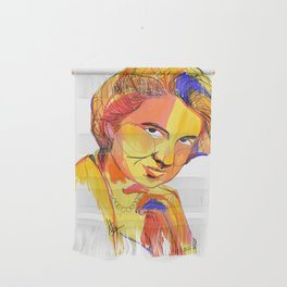 Rosalind Franklin by Aitana Pérez Wall Hanging