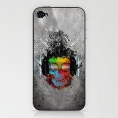 Rebel music iPhone & iPod Skin