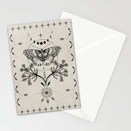 Magical Moth Stationery Cards