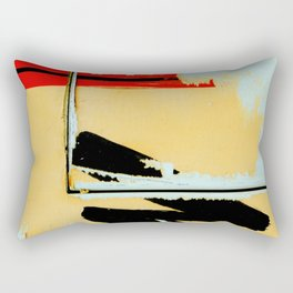 Peeling Poster Rectangular Pillow