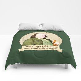 BEN AND BEER Comforters