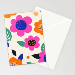 Playful Collage 2 Stationery Cards
