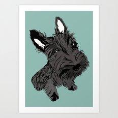 Scottie Art Print