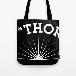 SC**THORPE (white) Tote Bag