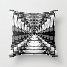 Abstract.Black+White. Throw Pillow