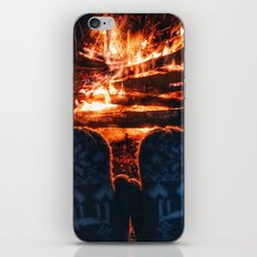 stay warm this winter iPhone & iPod Skin