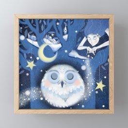 Winter Dream Framed Mini Art Print