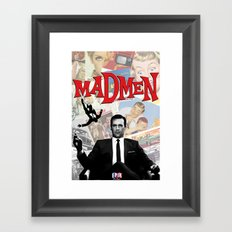 mr.draper Framed Art Print