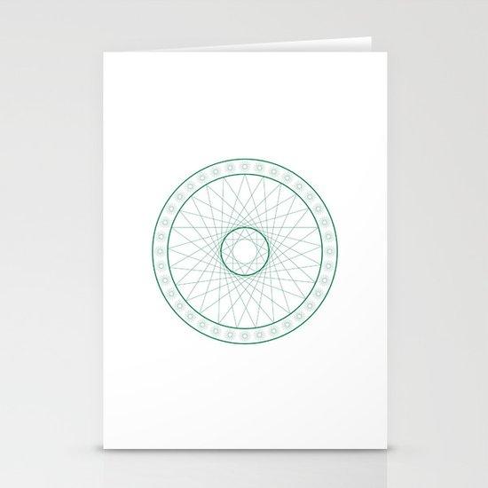Anime Magic Circle 6 Stationery Cards