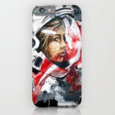 cosmonaut portrait by carographic Slim Case iPhone 6s