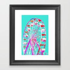 Pop Art Wheel Framed Art Print