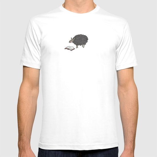 Books are Tasty Sheep T-shirt