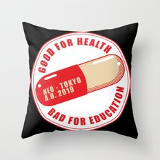Kaneda Custom Shop Throw Pillow