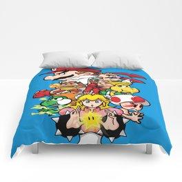 Mushroom Kingdom Fighters Comforters