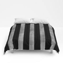 Gothic Stripes II Comforters