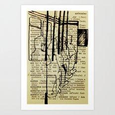Bus series - 2 Art Print